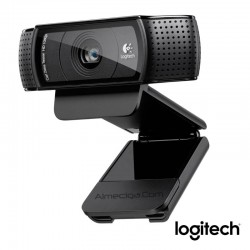 Cámara web Logitech HD pro webcam C920 de 15Mp